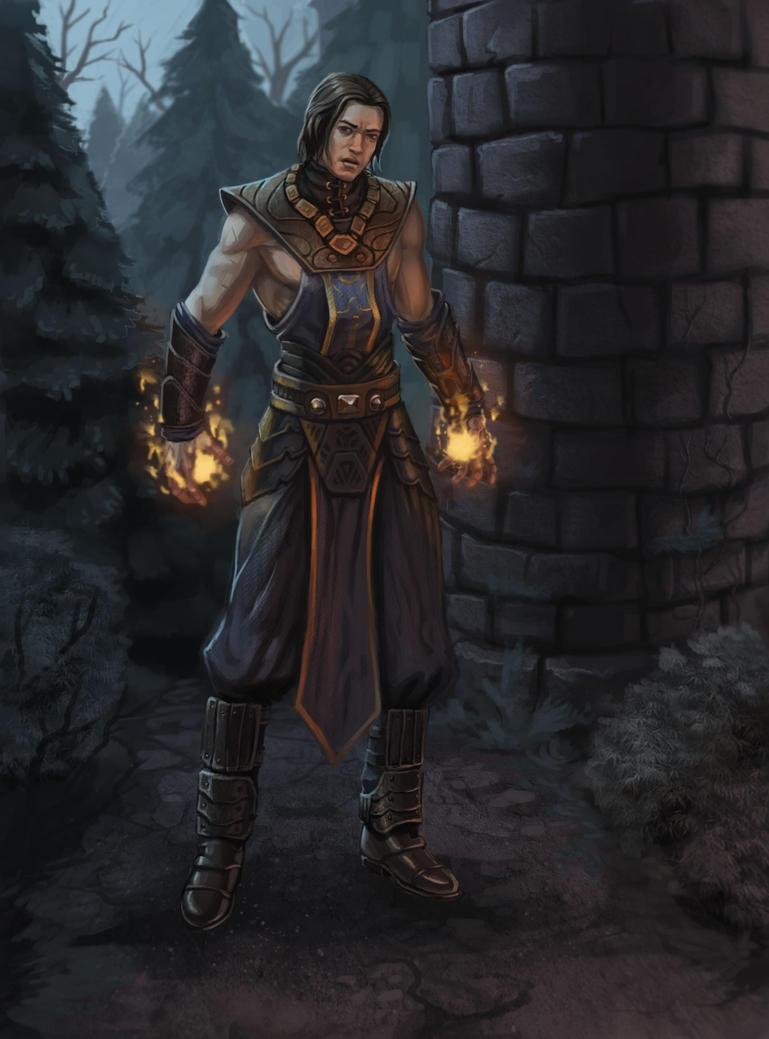 Sorcerer by NadrojWobrek