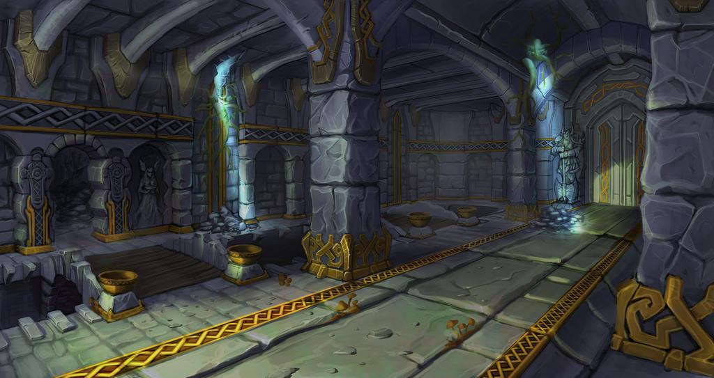 Ruins Concept by NadrojWobrek