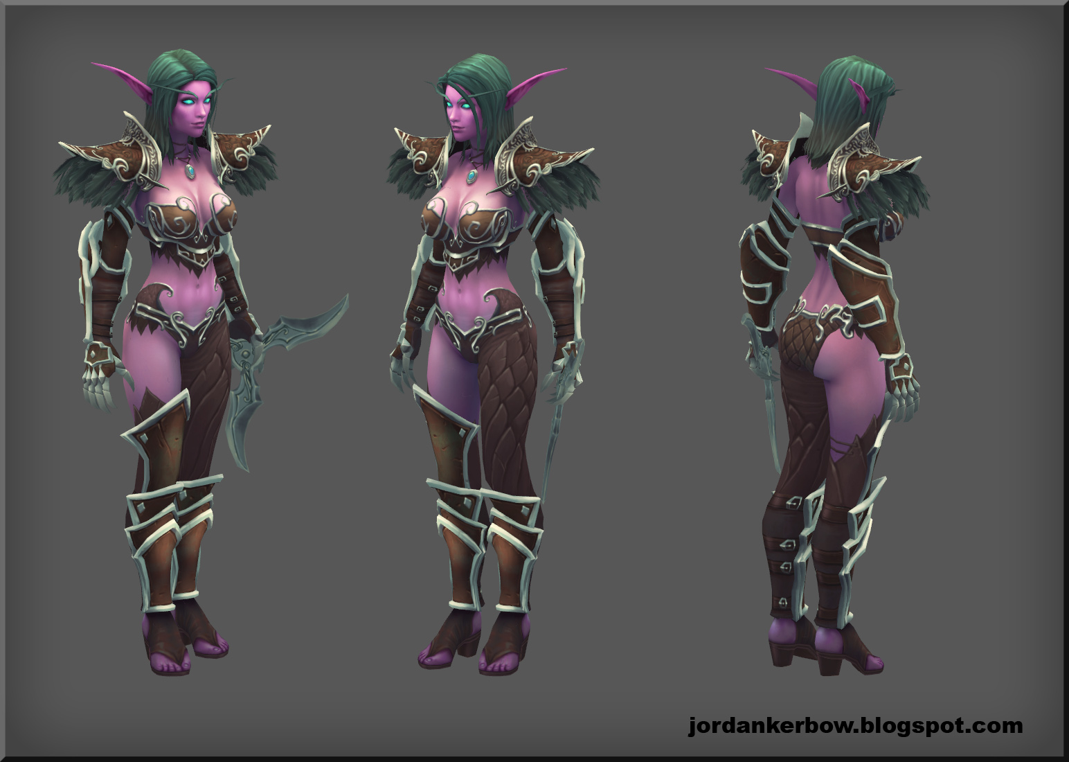 nightelf by jordankerbow on deviantart
