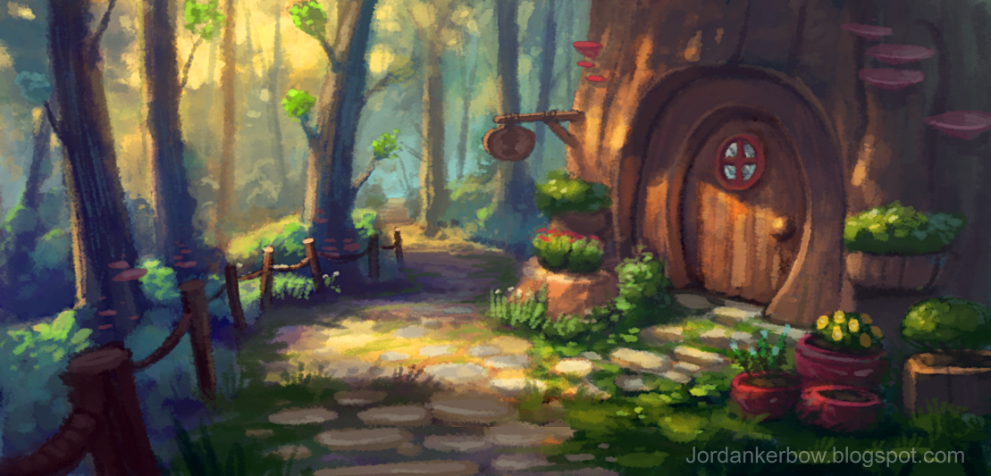 Woodland Cottage By Jordankerbow On Deviantart