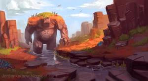River Beast by JordanKerbow