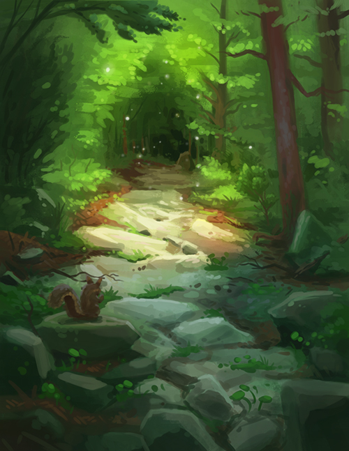 Forestrocks by JordanKerbow