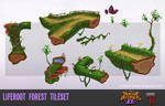 DD2 Liferoot Forest Tileset