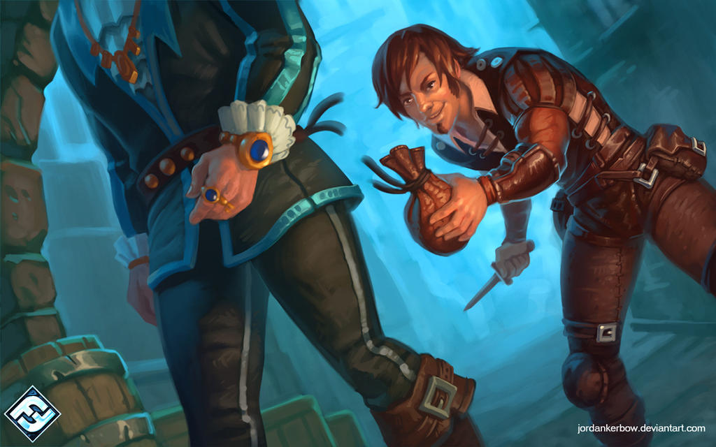 Runebound Pickpocket by JordanKerbow