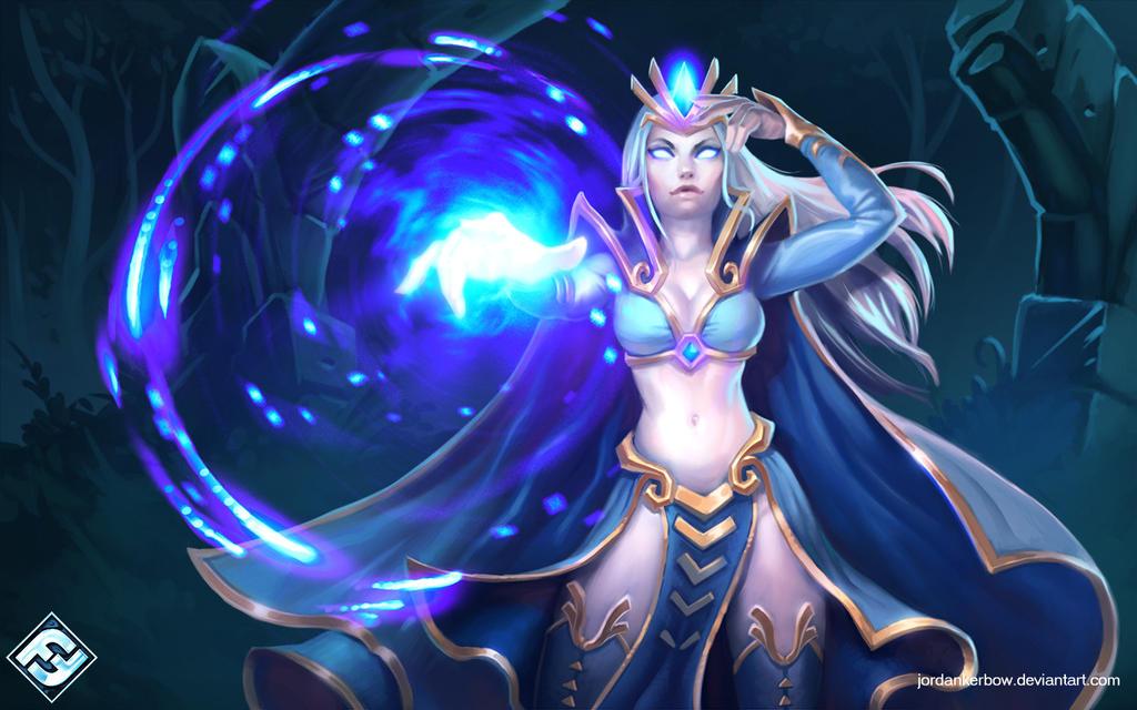 Runebound Fey Sorceress by JordanKerbow