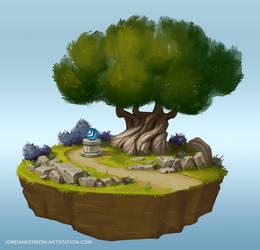 World of Warcraft 3D Diorama WIP