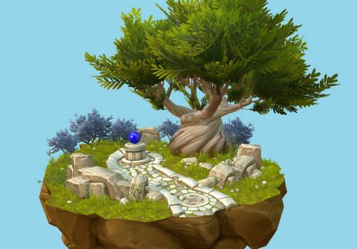 World of Warcraft 3D Diorama WIP Update