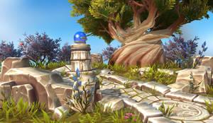 World of Warcraft Azsuna Diorama Update!