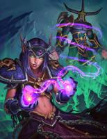 World of Warcraft Blood Elf Demonology Warlock