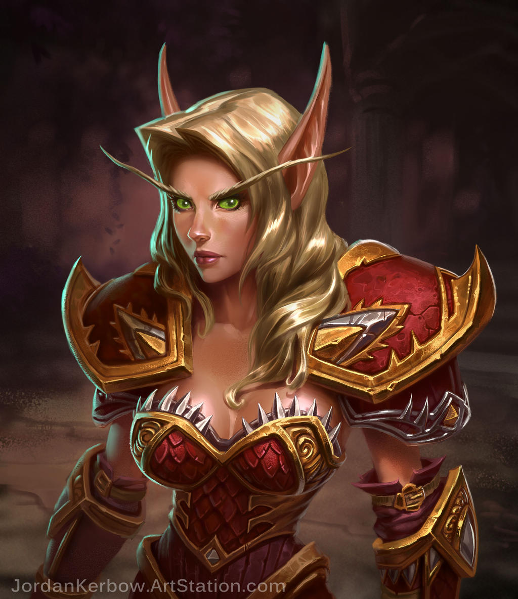 Turn into a blood elf wow porn scenes