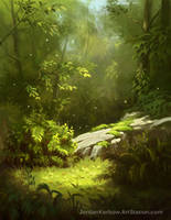 Quiet Forest by JordanKerbow