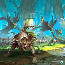 Latari Elves Army Expansion by JordanKerbow