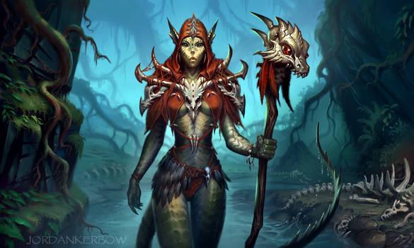 Ssssayshula the Priestess