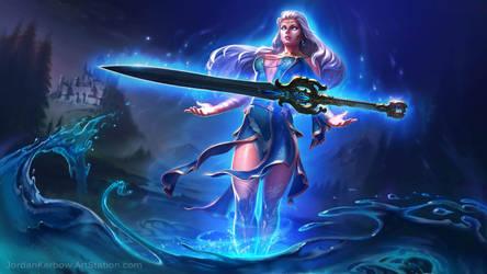 SMITE: Freya, Lady of the Lake