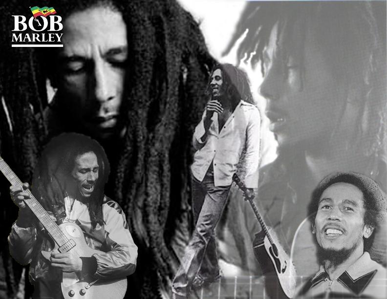 Bob Marley by shoobedoowahh
