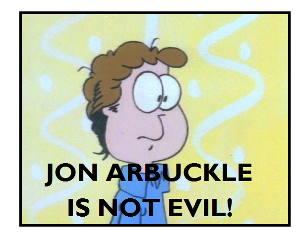 Pro Jon Arbuckle Stamp by BobClampettFan164