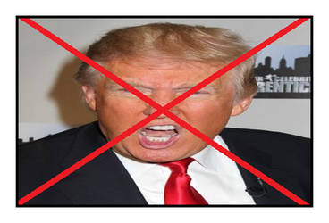 Anti Donald Trump Stamp by BobClampettFan164