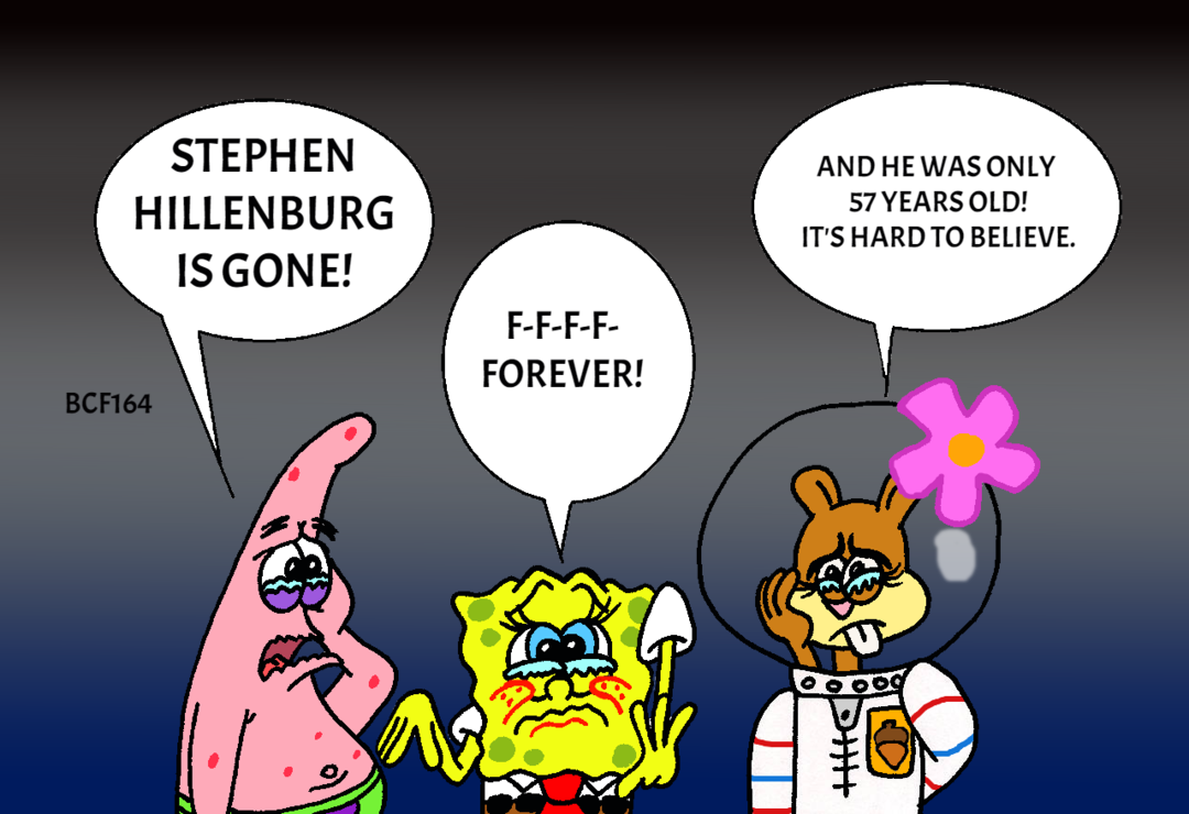 Stephen Hillenburg tribute by BCF164 by BobClampettFan164 on