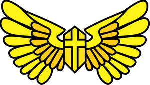 Request Cutie Mark: 'Gold Shield' Milante by razorsharpfang