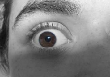 Brown Eyes by Kuro13