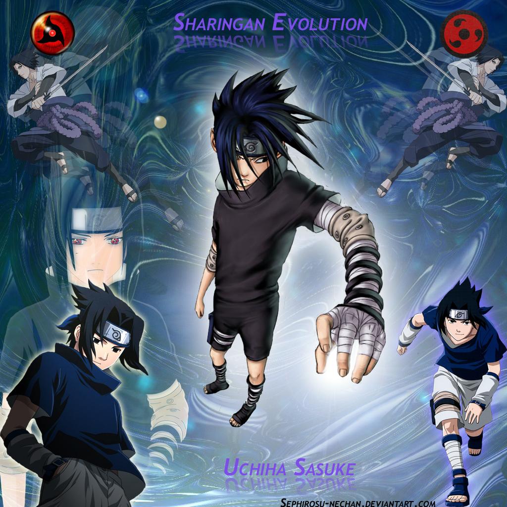 Sasuke__s_Evolution__Sharingan_by_Sephirosu_nechan