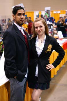 Gotham City highschool uniforms