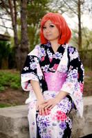 Haruka Nanami Kimono by Lightning--Baron