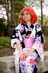 Haruka Nanami Kimono