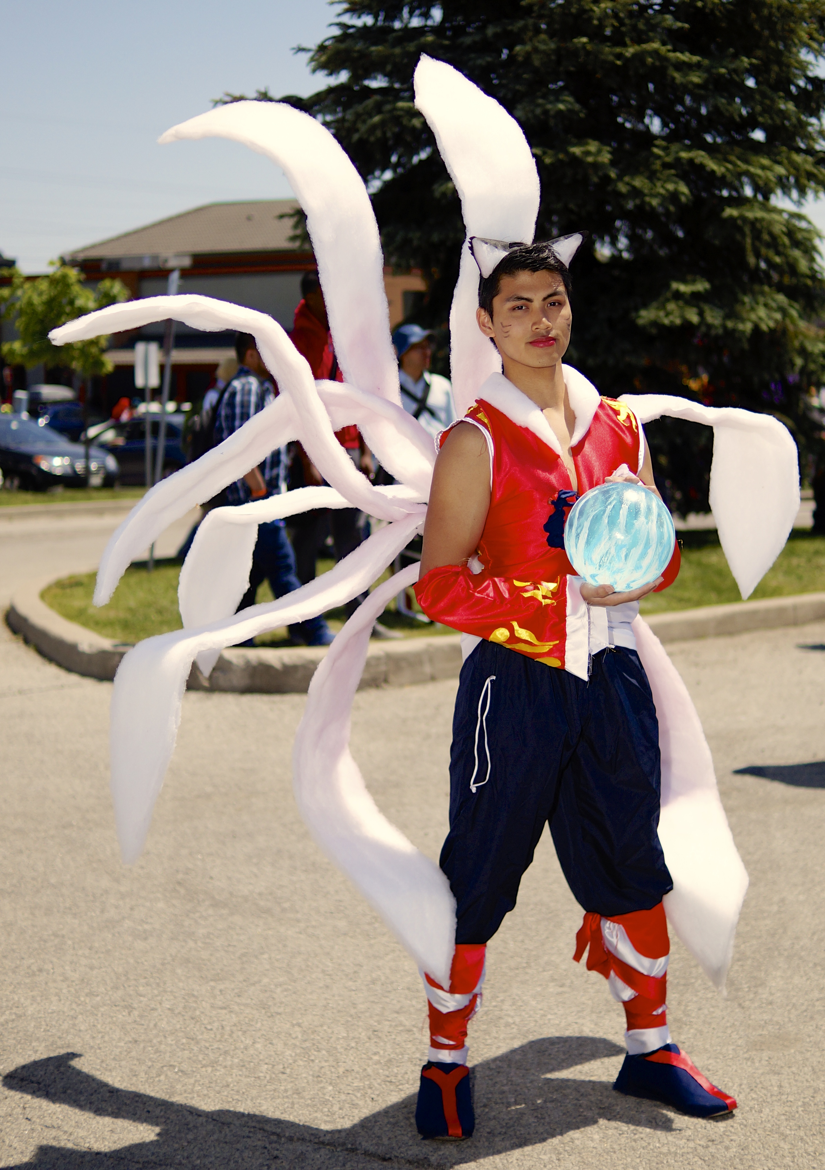 Male Ahri Cosplay Anime North 2015 by Lightning--Baron on ...