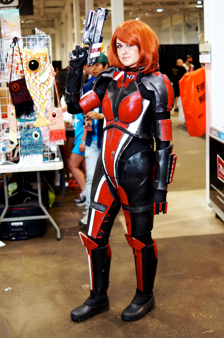 Female Shepard Unpugged Expo 2015 by Lightning--Baron