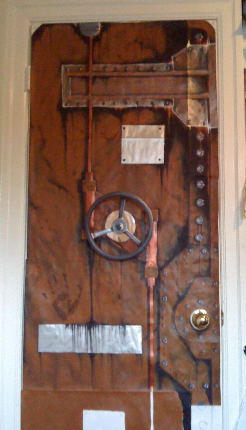 El arte de las puertas. Steampunk_door_3_by_Chaylar