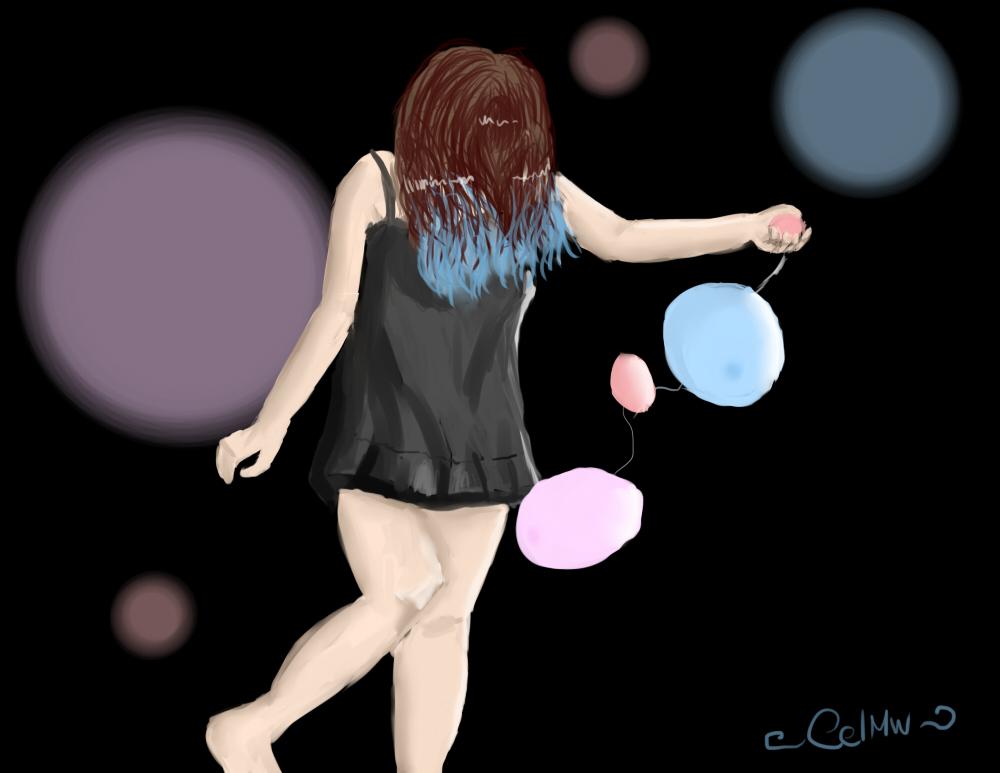 El hada de los globos by CelMW