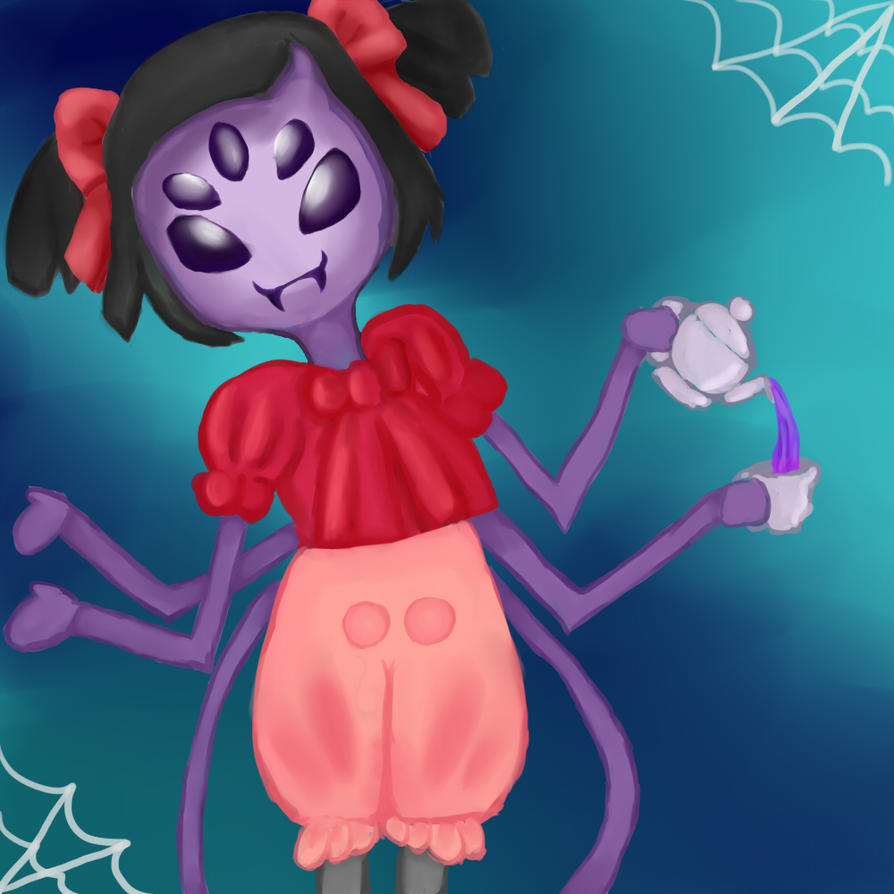 Muffet, the spider by CelMW