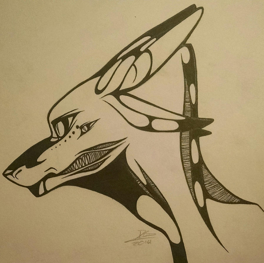 Pen Sketch by DeltaAlternia77
