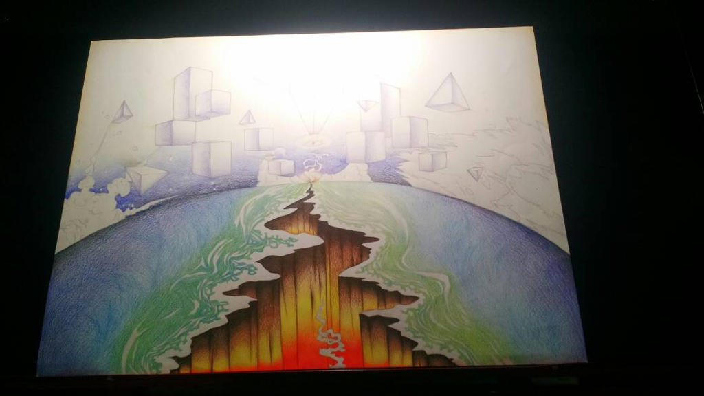school art project apparently by DeltaAlternia77