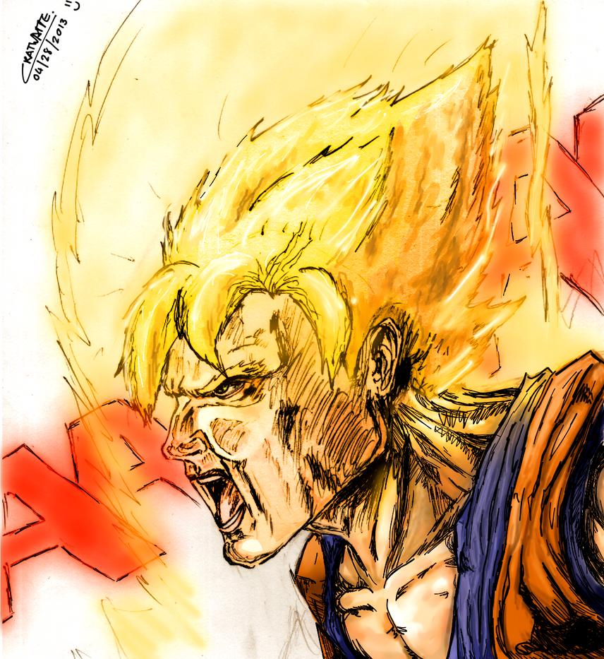 Goku Super Saiyan 1 by Chenks-R on DeviantArt