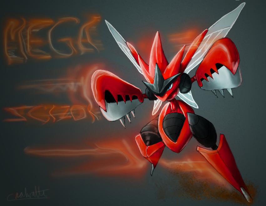 Mega Scizor By Chenks R On Deviantart