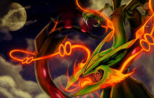 Mega RAYQUAZA! by Chenks-R
