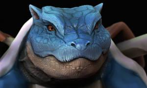Blue turtle test render