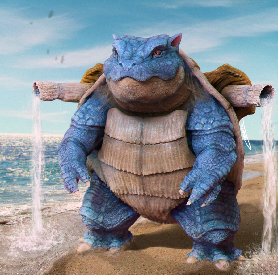 Realistic Blastoise!!! by Chenks-R on DeviantArt