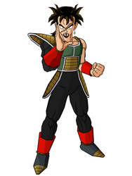 Fusion Saiyan Warrior Kennca by kjstyles2x-treme