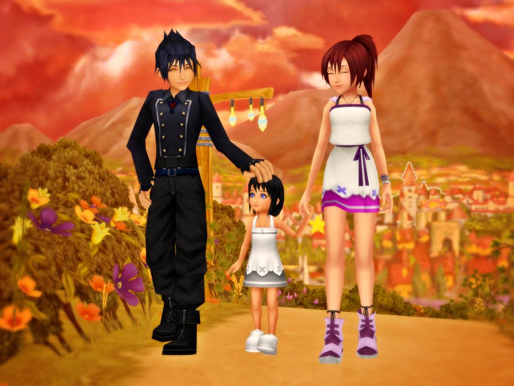 VanKai Day - Our sweet family by HakuMizuki