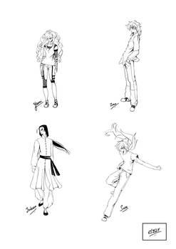 Dark Legend Characters