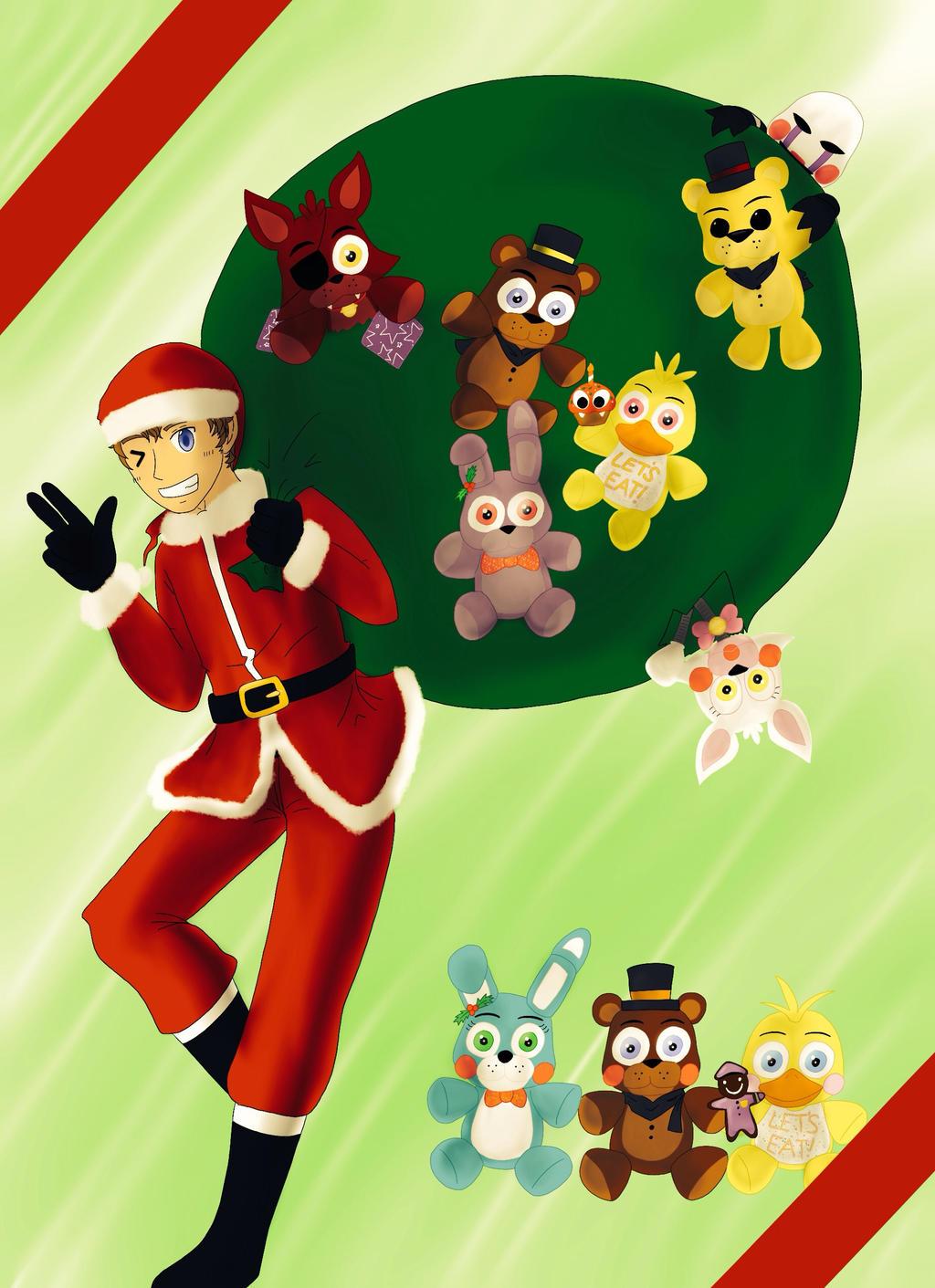 5 Nights At Freddy's 2 - Christmas by KuroOkami97 on DeviantArt