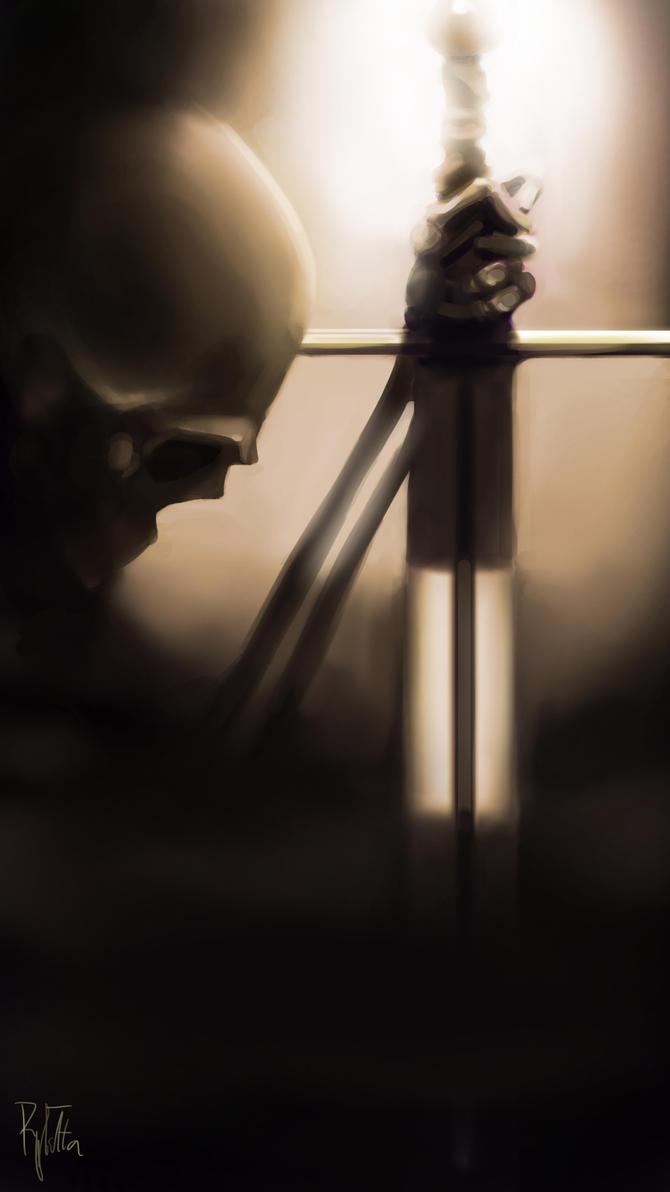 Skeleton knight by Random-Derp