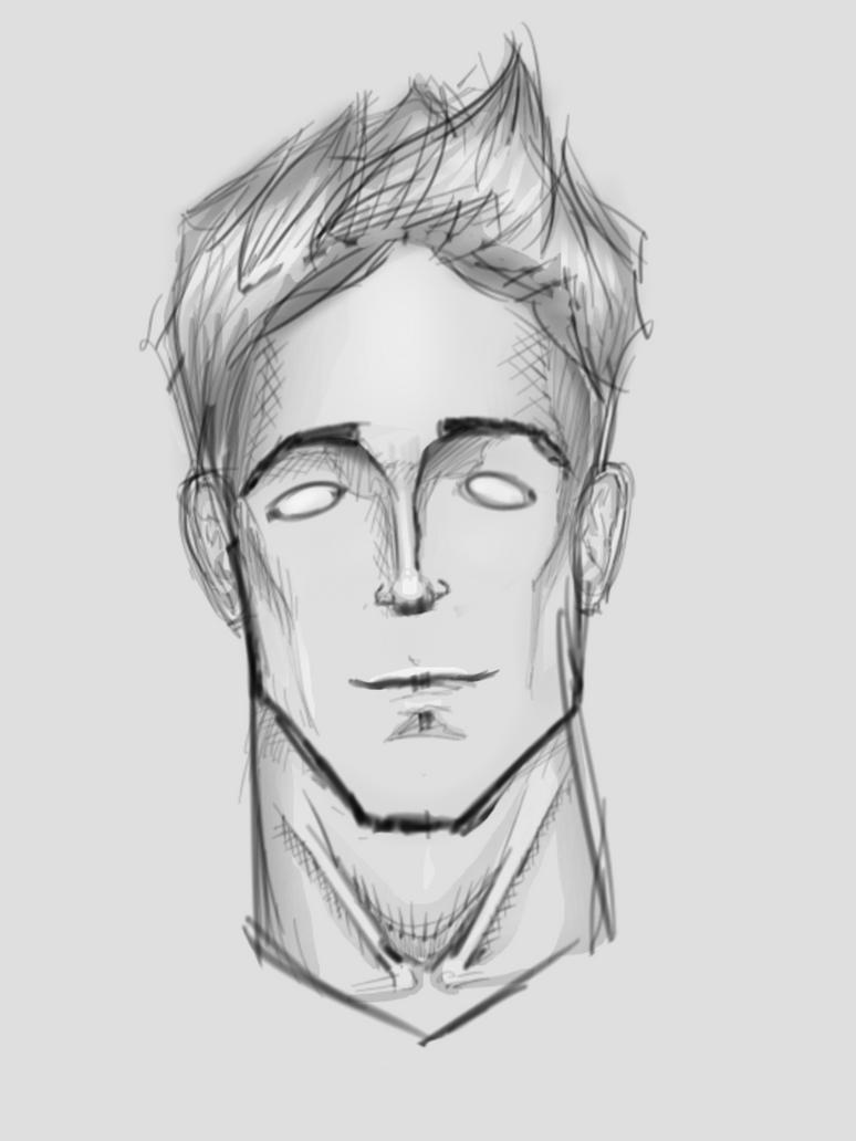 Quick Face Sketch - Sketchbook Pro 7 By KlavensCartoons On DeviantArt