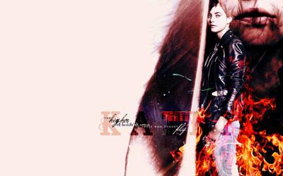 Hunger Games - Katniss by Firlachiel