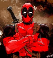 Deadpool by Firlachiel