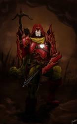 Tony Stark - Diablo III Demon Hunter by Firlachiel