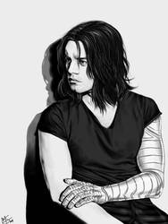 Bucky by thortheavengergod